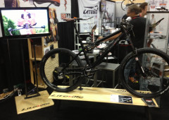 Liteville Bike Displays and TV Stand – Interbike 2013